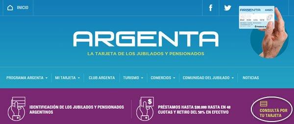 Sacar turno en ANSES para pedir un crédito de Tarjeta Argenta por Internet