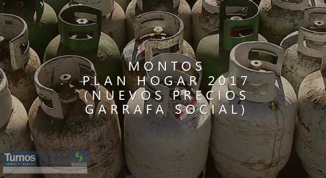 Nuevos montos Plan Hogar 2017 – Garrafa Social
