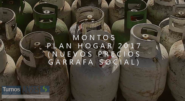 Nuevos montos Plan Hogar 2017
