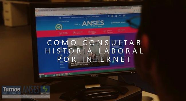 Consultar historia laboral por Internet