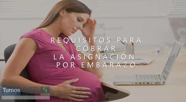 Requisitos para cobrar la Asignación por Embarazo