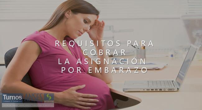 Requisitos para cobrar la Asignación por Embarazo