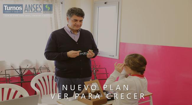 Nuevo Plan Ver Para Crecer: Anteojos gratis