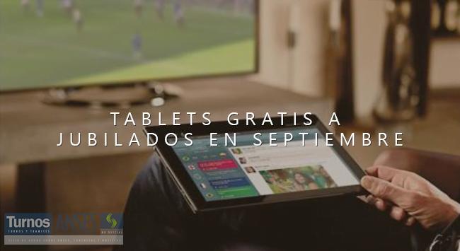 Plan +SIMPLE: Tablets Gratis a Jubilados en Septiembre
