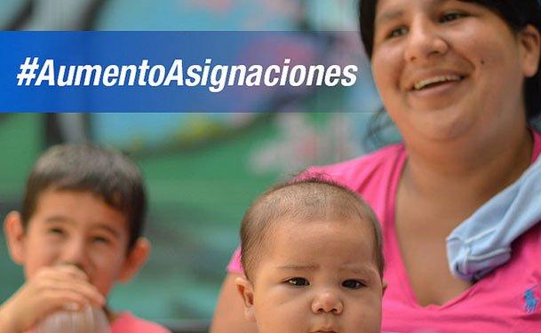 Habra Aumento para la Asignación Universal por hijo según Macri?