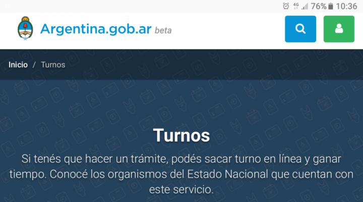 AFIP, ANSeS, DNI: El nuevo sitio de para solicitar turnos que lanzó el Gobierno