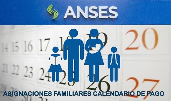 Fechas de Pago Asignaciones Familiares Junio, Julio y Agosto 2018