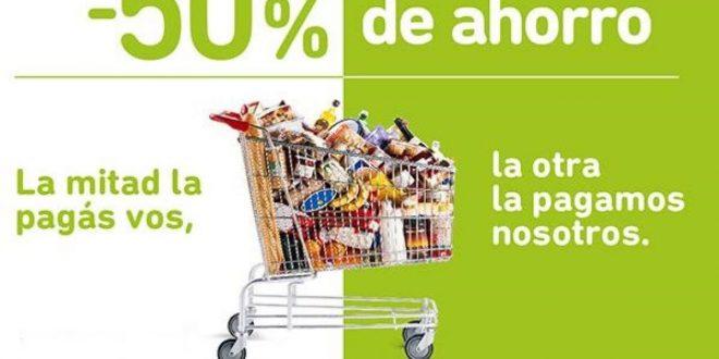 Programa descuentos del 50% del Banco Provincia en Supermercados adheridos