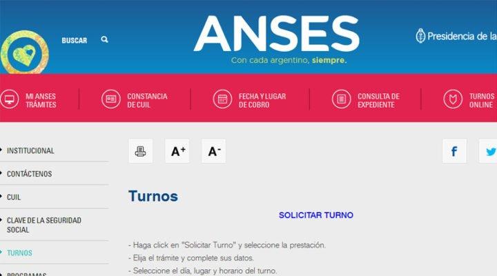 Qué tramites puedo hacer con la página de Anses?