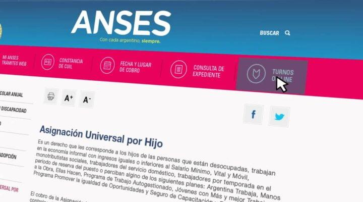 Como Presentar la Libreta Anual de la Asignación Universal por Hijo por Internet