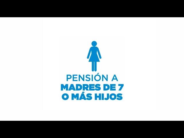 Que es y como solicitar la Pensión no contributiva para madre de 7 hijos