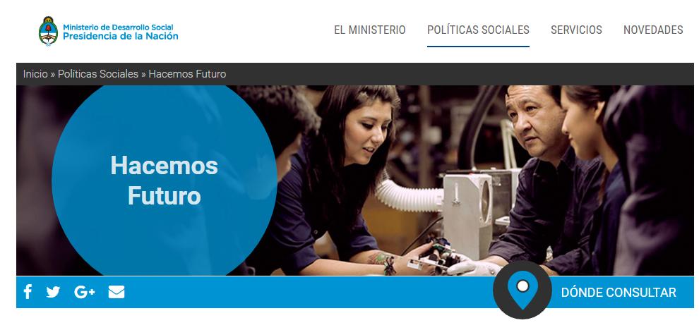 Programa HACEMOS FUTURO