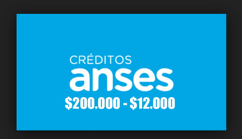 Sacar un préstamo ANSES