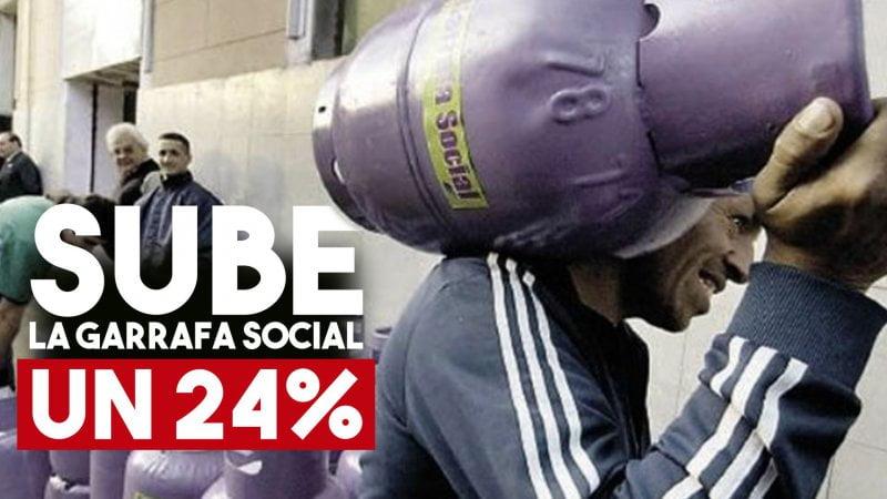Sube 24% la Garrafa Social | AUMENTO Plan Hogar 2019